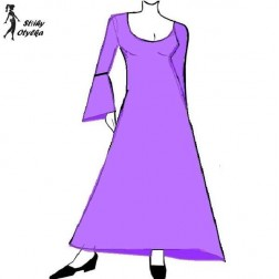 Šaty široké Dita