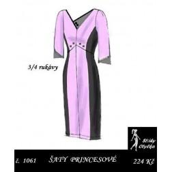 Šaty Valérie, princesové
