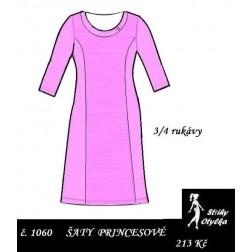 Šaty Yveta, princesové