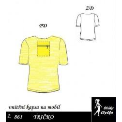 Tričko s krátkým rukávem Bohumil