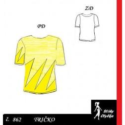 Tričko s krátkým rukávem Květoslava