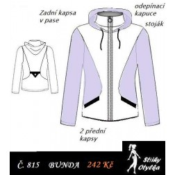 Bunda s kapucí Bohuslava