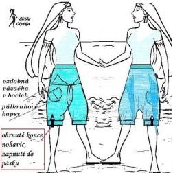 Volné kalhoty Aiša 5