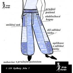 Volné kalhoty Aiša 7
