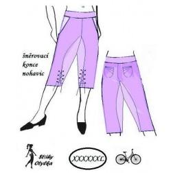 Volné kalhoty Ája