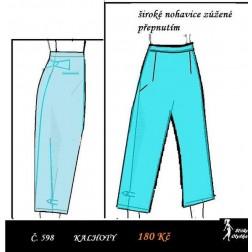 Volné kalhoty Babeta
