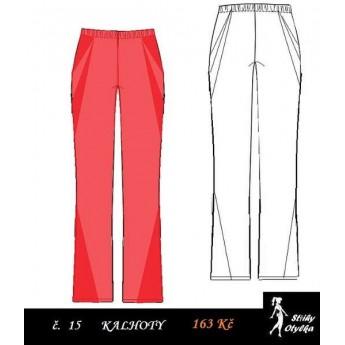 Kalhoty volné Katrin