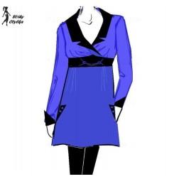 Volné šaty Hana