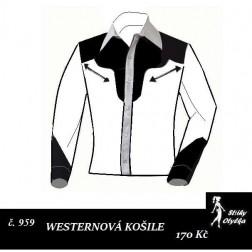 Westernová košile Pavel/Pavla