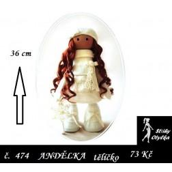 Andělka Aninka tělíčko, PDF, VP 36 cm