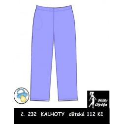 Kalhoty Honzík