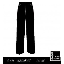 Kalhoty oblekové Bláža / Blažej