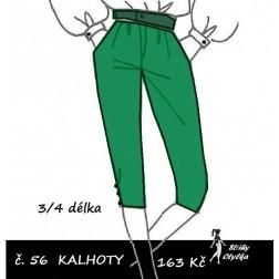 Kalhoty tříčtvrteční, Ela
