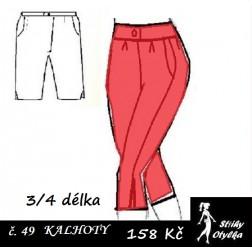 Kalhoty tříčtvrteční, Jarmila