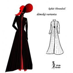 Dámská varianta kabátu Thranduil
