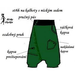 Volné kalhoty Aiša 11