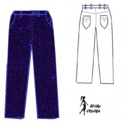 Dámské riflové kalhoty Xenie