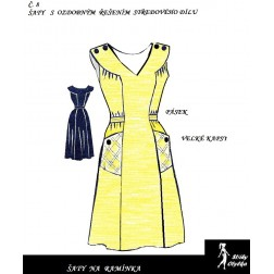 Šaty bez rukávů Stázka