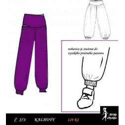 Dětské kalhoty vel. 120 Irča
