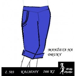 Tříčtvrteční kalhoty, Márinka