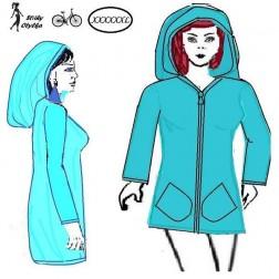 Flísová bunda s kapucí Štěpa
