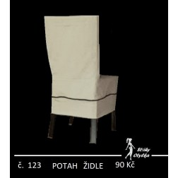 Potah na židle - STŘIH