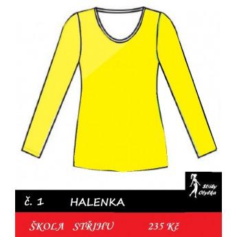 Škola střihu - HALENKA Iva