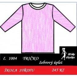 Škola střihu - TRIČKO Naděžda / Daniel