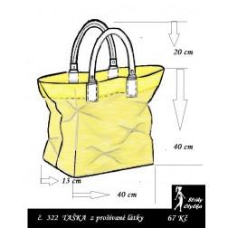 Kabelka č. 08 nákupní taška - výška 40 cm