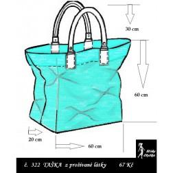 Kabelka č. 08 nákupní taška - výška 60 cm