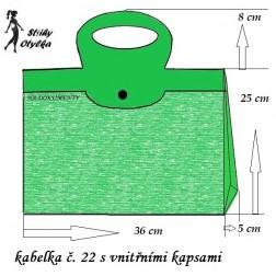 Kabelka č. 22