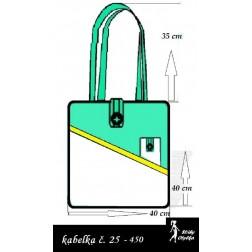 Kabelka č. 25 nákupní taška