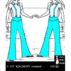 Kalhoty zvonové do sedla, Alice