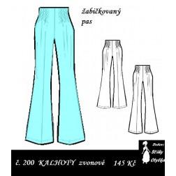 Kalhoty zvonové, Frantina