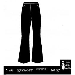 Kalhoty zvonové Bláža / Blažej