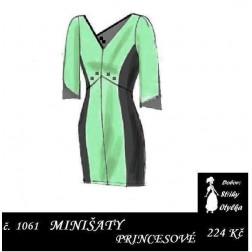 Minišaty Valérie, princesové