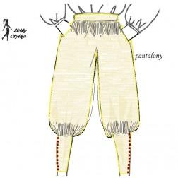 Pantalony renezančního šlechtice