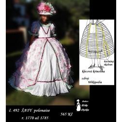 Šaty polonaise, r. 1770 až 1785