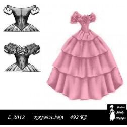 Šaty s velkou krinolínou, Andrea