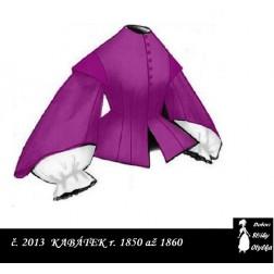 Kabátek r. 1850 až 1860, Aranka