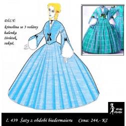 Šaty s krinolínou Klára