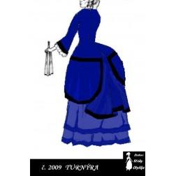Dámské šaty s honzíkem Anastázie