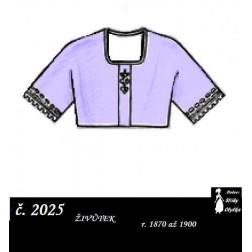 živůtek  r. 1870 až 1900,  Tonka
