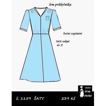 Šaty Stázka