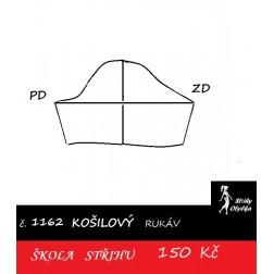 Škola střihu - RUKÁV krátký košilový, halenkový