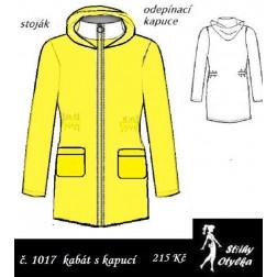 Kabát s kapucí Lenka / Leon