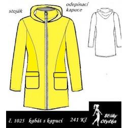 Kabát s kapucí Marcelka / Vilda
