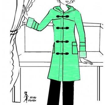 Kabát s kapucí Svatava
