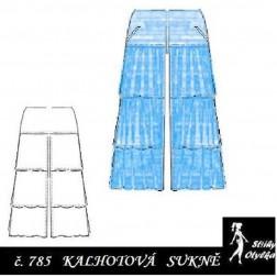 Kalhotová sukně Agátka