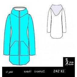 Kabát s kapucí Viktorka